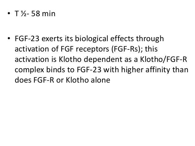 Fgf 23 and klotho Slide 3