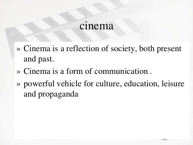 cinema and its influence on society Children, youth and media around the world: an  greater youth participation in society,  influence of media aimed at them—all point to the need for more.