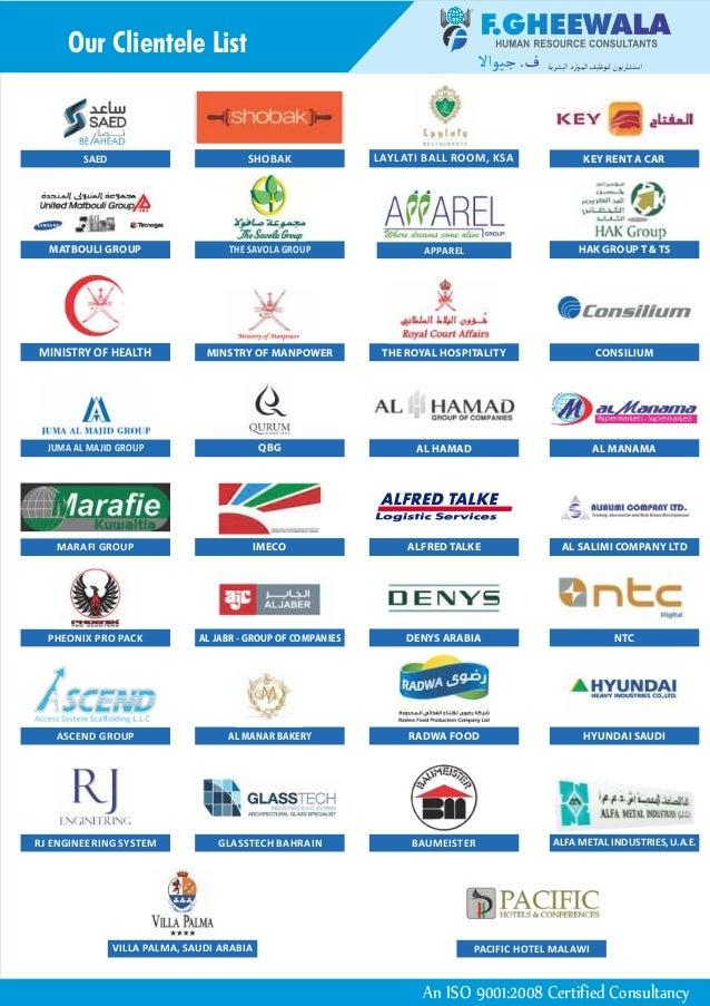 F GHEEWALA OFFICE MUMBAI - Best Gulf Jobs & Jobs Abroad for