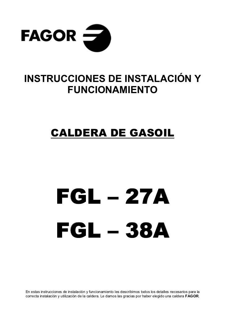 Fgl 27 a 38a sep 06 servicio tecnico fagor for Servicio tecnico fagor granada