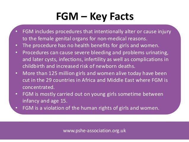 an introduction to the issue of female genital mutilation in africa Free coursework on female genital mutilation from essayukcom that fgm again became an issue for discussion in many countries in africa.