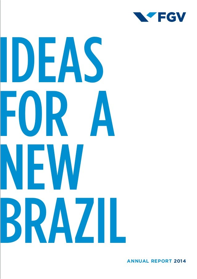 IDEAS   FOR  A NEW BRAZILANNUAL REPORT 2014