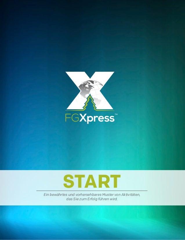 STARTEin bewährtes und vorhersehbares Muster von Aktivitäten, das Sie zum Erfolg führen wird.