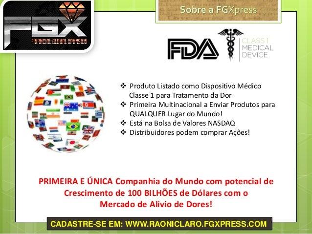  Produto Listado como Dispositivo Médico Classe 1 para Tratamento da Dor  Primeira Multinacional a Enviar Produtos para ...