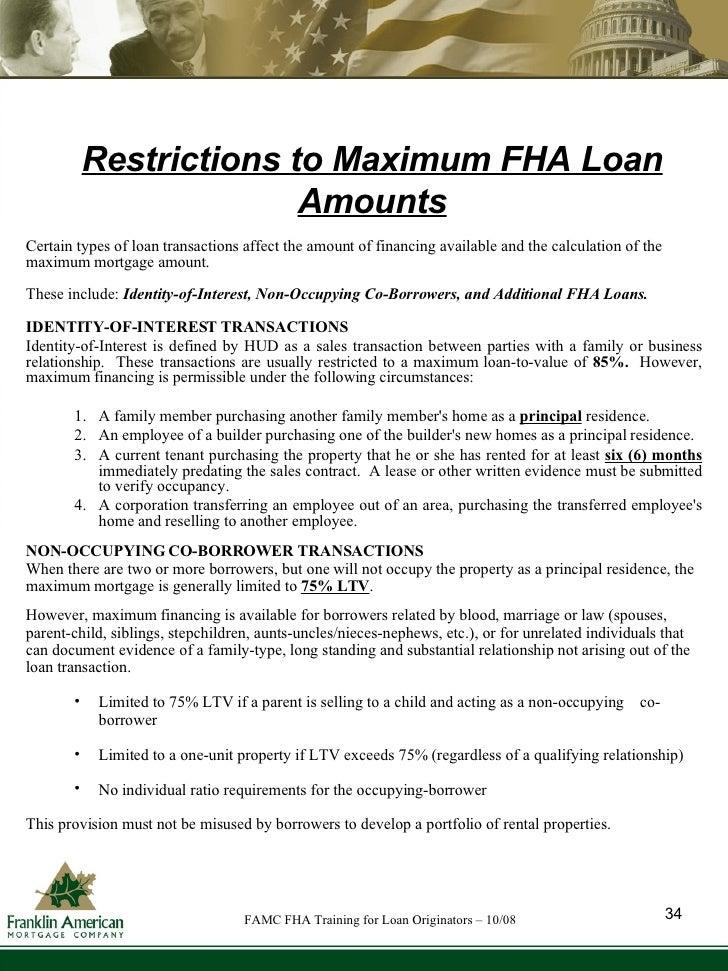 Fha Training For Loan Originators Oct 08