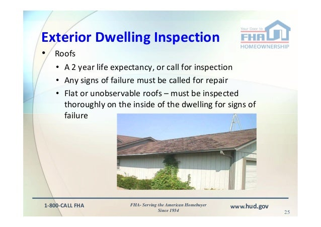 FHA Appraisal and Inspection Issues