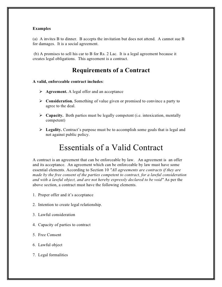 agreement contract letter template legal templates free ... |Example Of Valid Contract