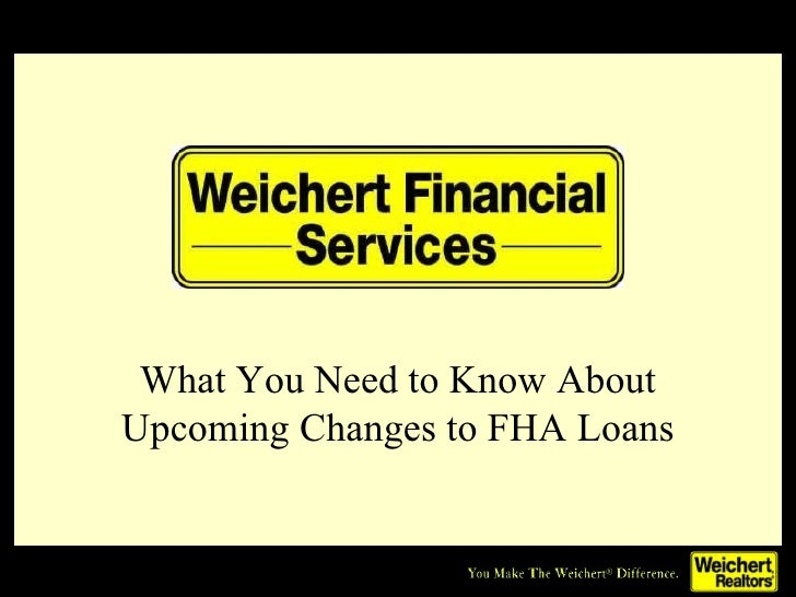 What You Need to Know About Upcoming Changes to FHA Loans