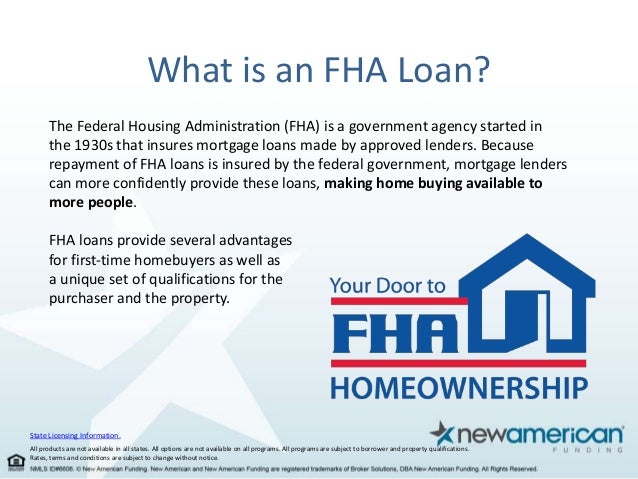 Fha Advantages