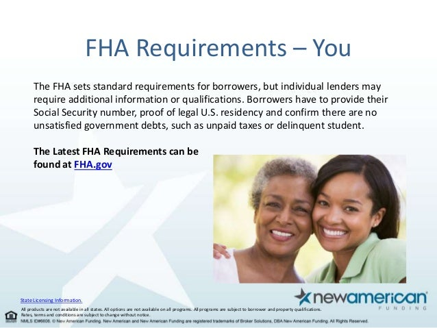 Fha Loan Facts For First Time Homebuyers