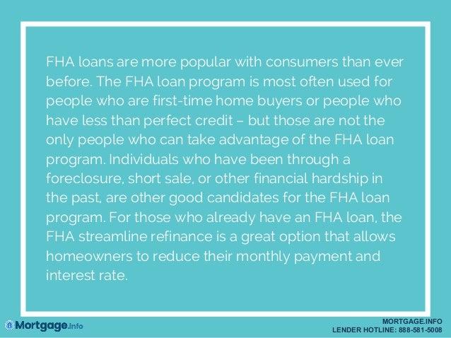 FHA Loan mortgage.info