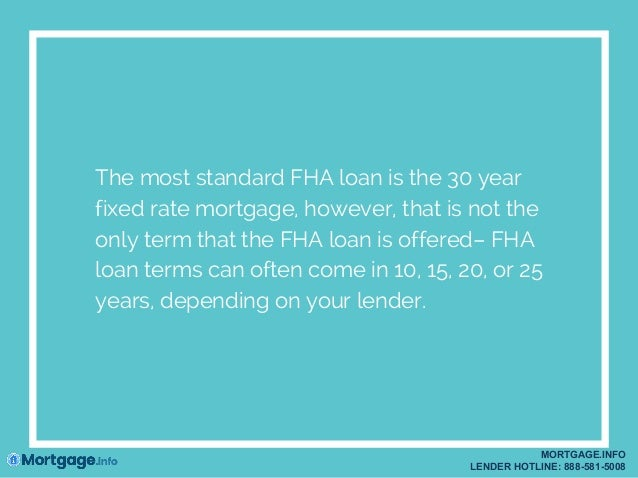 Fha Refinance: Fha Refinance 30 Year To 15 Year