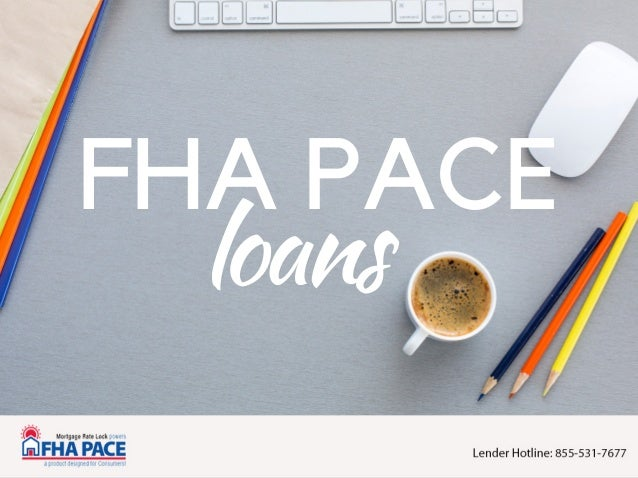FHA PACE loans