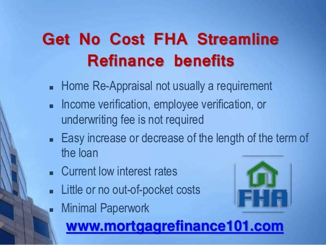 Refinance Rates Today >> Fha Benefits For Streamlined Refinance Rates Today At Your Door Way