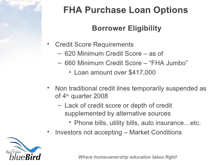 A Complete Guide To FHA Purchase Loans