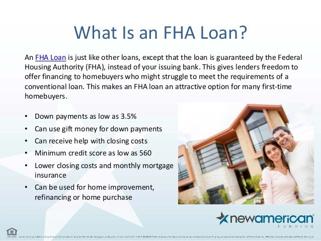 Choosing a Mortgage - FHA vs Conventional | New American Funding