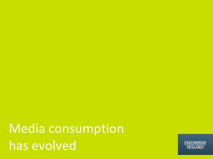 Media consumption <br />has evolved<br />