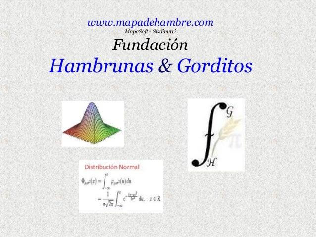 www.mapadehambre.com MapaSoft - Sisdinutri  Fundación  Hambrunas & Gorditos