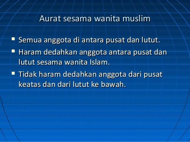 Fiqh Halal Wal Haram Pengenalan Kepada Aurat