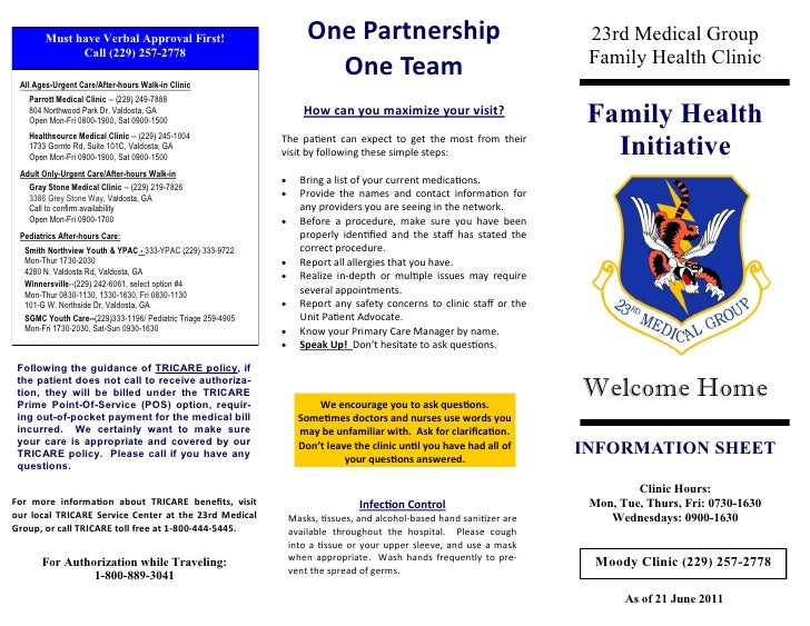 Must have Verbal Approval First!                              One Partnership                                     23rd Med...