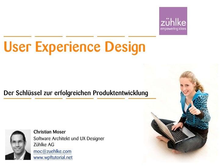 Einführung in User Experience Design