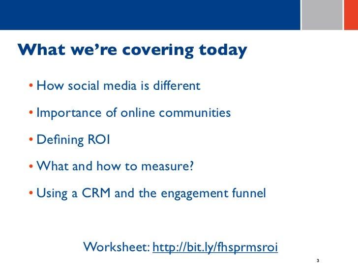 Social Media = ROI (revised 7/15/11) Slide 3