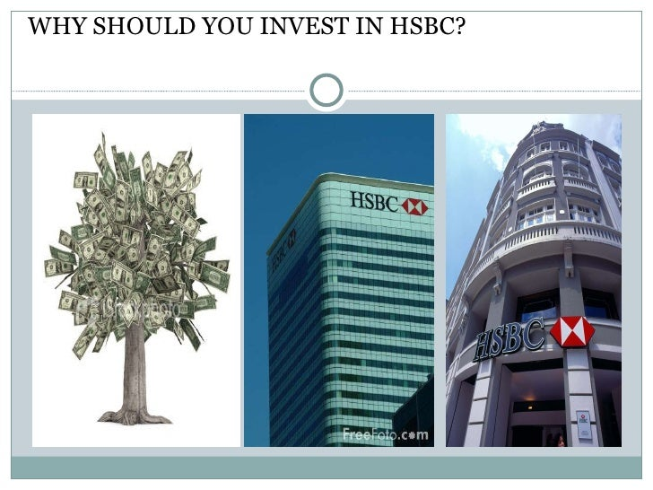 A presentation of HSBC