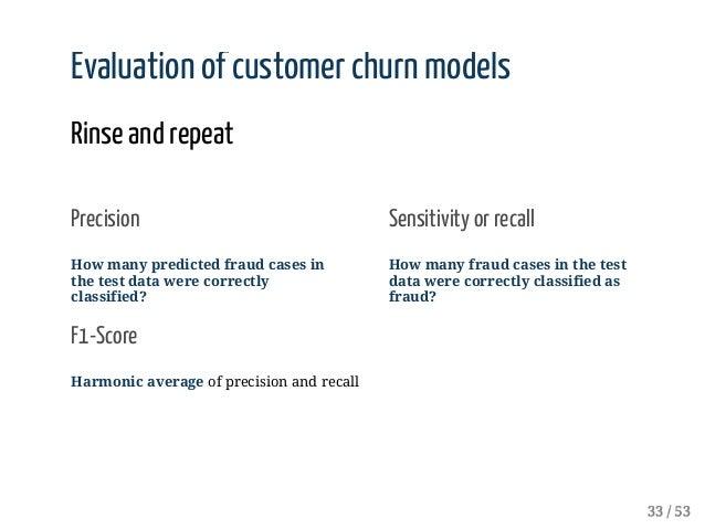 Real-World Data Science (Fraud Detection, Customer Churn