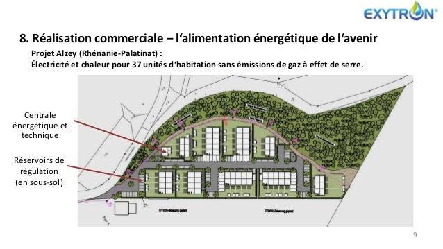 8. Réalisation commerciale – l'alimentation énergétique de l'avenir Projet Alzey (Rhénanie-Palatinat) : Électricité et cha...