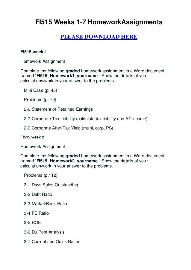 fi515 homework 2