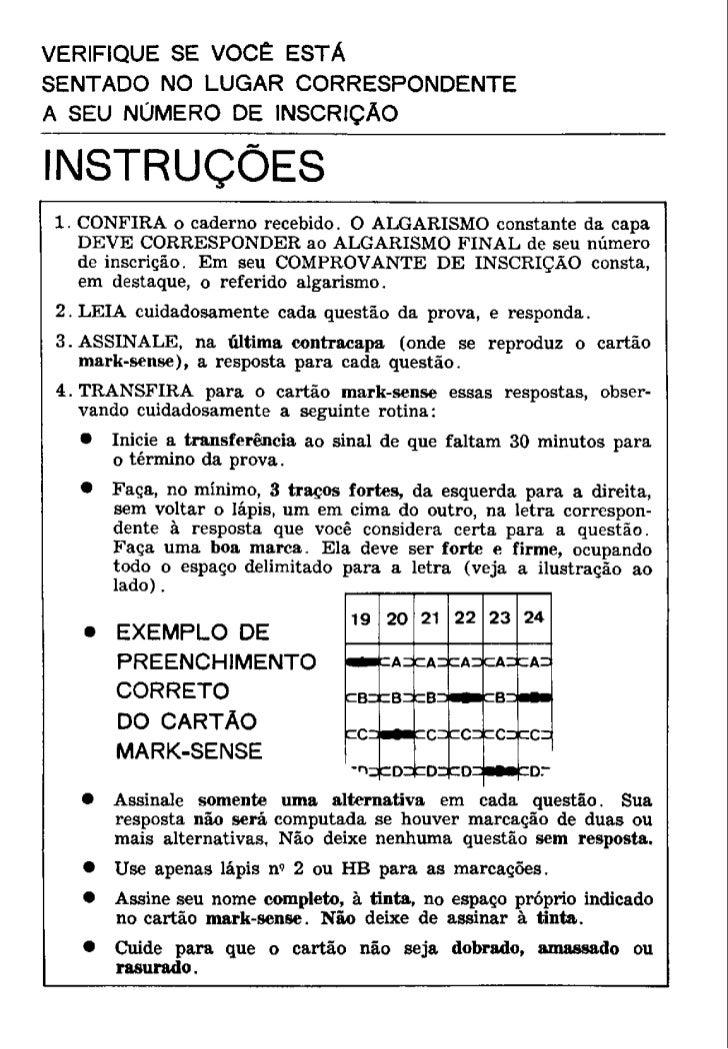 UFMG Provas Antigas 1973 cin6 - Conteúdo vinculado ao blog      http://fisicanoenem.blogspot.com/    Slide 2