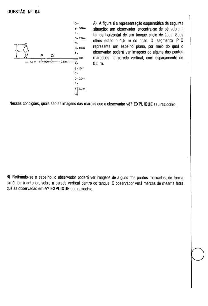UFMG Provas Antigas 1989 aberta - Conteúdo vinculado ao blog      http://fisicanoenem.blogspot.com/