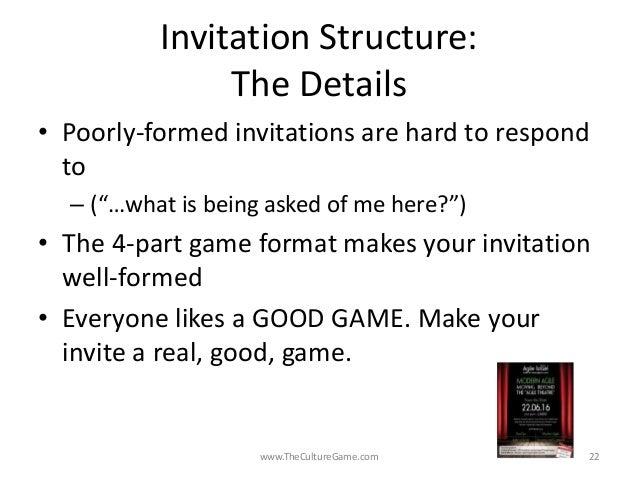 Invitation as leadership art agile israel 2016 daniel mezick invitation structure stopboris Images