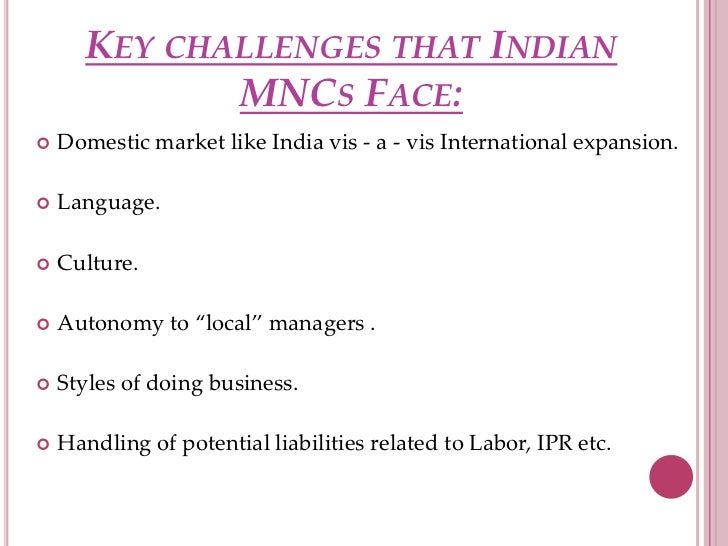 are mncs superior to indian companies With increasing trade relations between india and the world, cross-border movement of employees from and out of india has increased quite considerably in india, employees enjoy the protection of diverse laws and regulations.