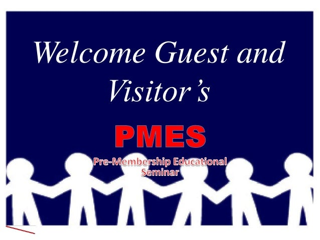 Welcome Guest andVisitor's