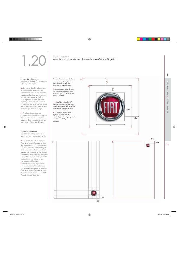 FIAT (Manual de Identidad Visual) elementos básicos
