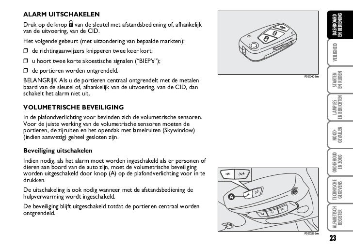 Fiat Stilo Instructieboek