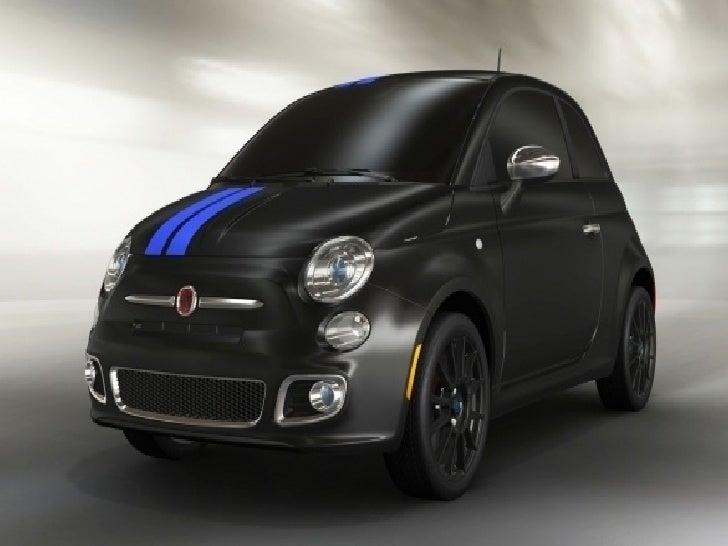 Fiat 500 mopar 2011