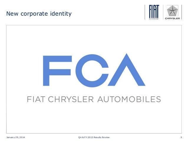 Fiat Chrysler q4 fy 2013 results