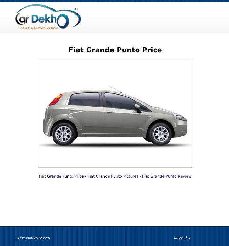 Fiat Grande Punto Price          Fiat Grande Punto Price - Fiat Grande Punto Pictures - Fiat Grande Punto Reviewwww.cardek...