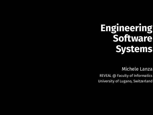 A Holistic Approach to Evolving Software Systems Slide 2