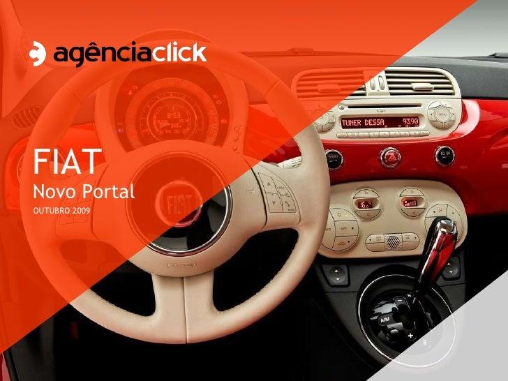 FIAT Novo Portal OUTUBRO 2009