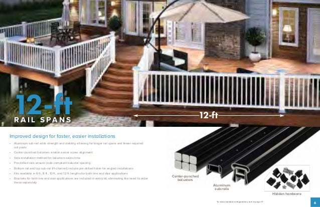 Fiberon Railing Collection Brochure