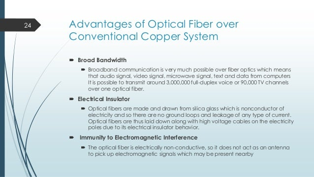 Presentation About Fiber Optics