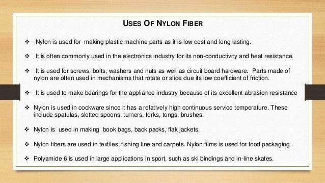Properties Of Nylon Uses 68