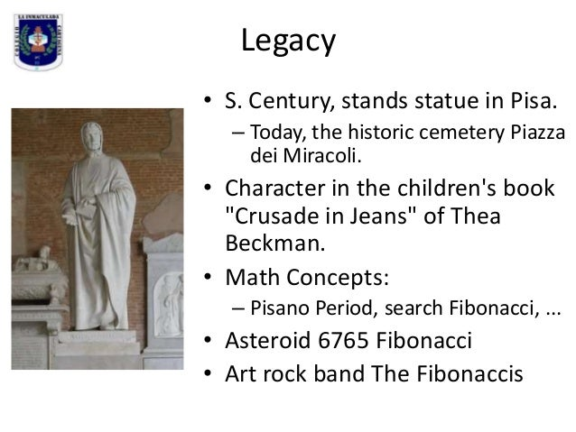 Legacy • S. Century, stands statue in Pisa. – Today, the historic cemetery Piazza dei Miracoli.  • Character in the childr...