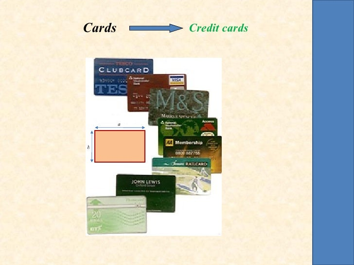 Cards       Credit cards        ab