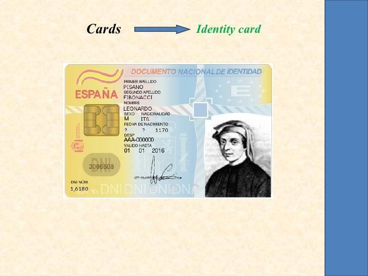 Cards   Identity card