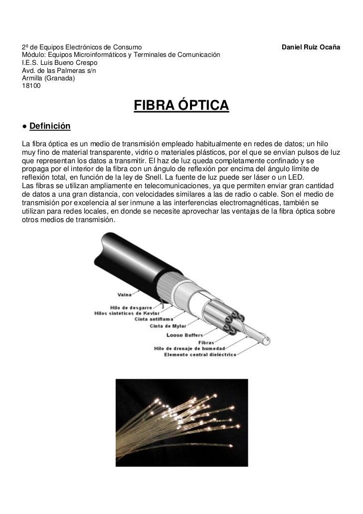 2º de Equipos Electrónicos de Consumo                                            Daniel Ruiz OcañaMódulo: Equipos Microinf...