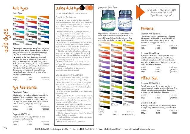 15 78 Acid Dyes